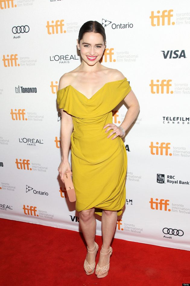 Emilia Clarke TIFF 2013: 'Game Of Thrones' Star Is Ravishing On Red Carpet