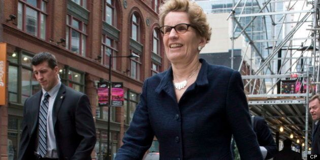 Kathleen Wynne Won't Apologize For Ontario Gas Plant Cost