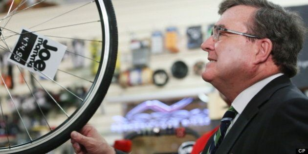Jim Flaherty Misled Me With Budget Photo-Op, Says Owner Of Bicycle
