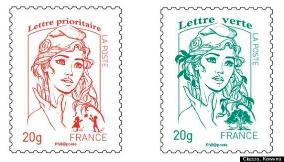 Marianne Stamp: French Postage Modeled After Femen Protester Inna