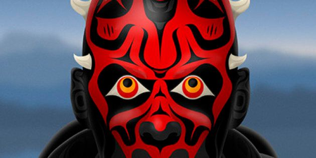 Star Wars, Native Style: Andy Everson Uses Characters To Criticize BC Treaty