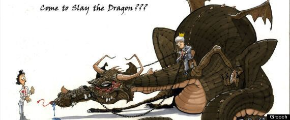 Justin Trudeau.. Dragon Slayer or Sir Robin?