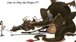 (LOOK) Justin Trudeau.. Dragon Slayer or Sir