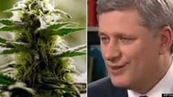 WATCH: Harper Shares Distaste For Pot In Clip Revived On
