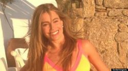 LOOK: Sofia Vergara Flaunts Her Curves In Cut-Out