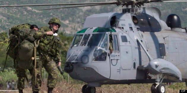 Sea King Helicopters Fleet Grounded After CFB Shearwater