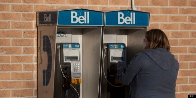 Bell Payphone Rate Increase Application Denied By