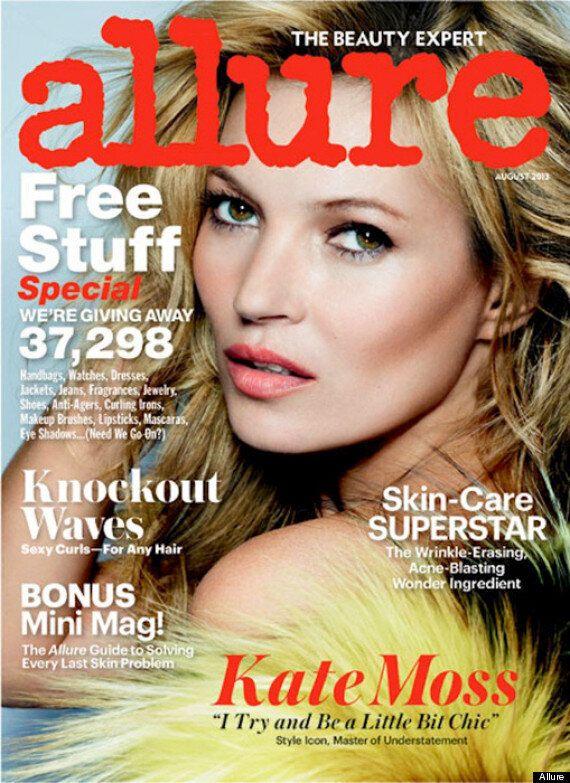 Kate Moss For Allure Magazine: 'Men Like White