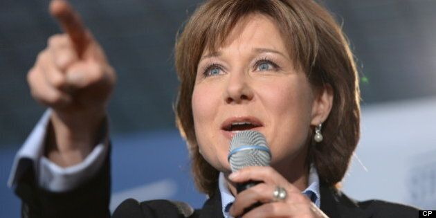 Christy Clark Attacks NDP Spending, Billion Dollar