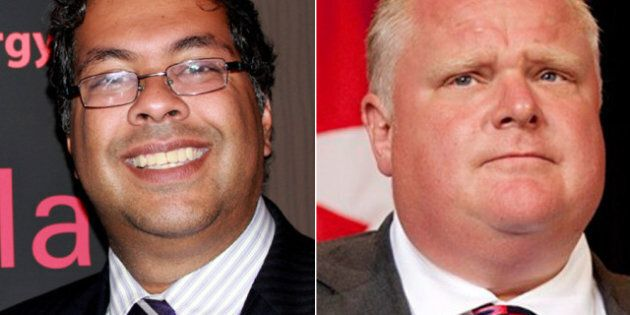 Naheed Nenshi, Rob Ford Grey Cup 2012 Bet: Calgary's Mayor Offers Football