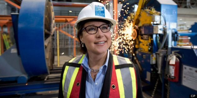 BC Election 2013: Christy Clark Takes To LNG