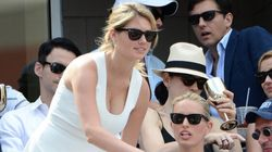LOOK: Kate Upton Turns Heads At US