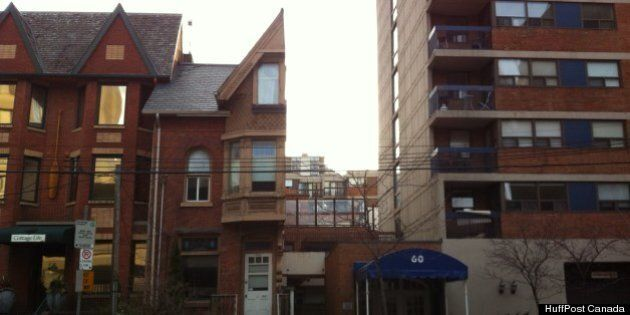 Half House: Toronto Building Split Down The Middle A Byproduct Of
