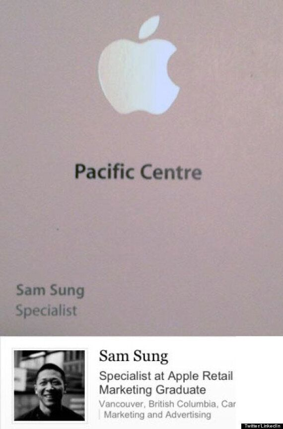 Sam Sung, Apple Specialist In Vancouver, Goes