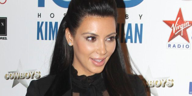 Kim Kardashian At Calgary Cowboys: Pregnant Reality Star Attends 17th Annual Iced