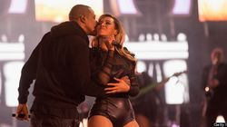 Aww! Beyonce And Jay-Z Share Some Love On