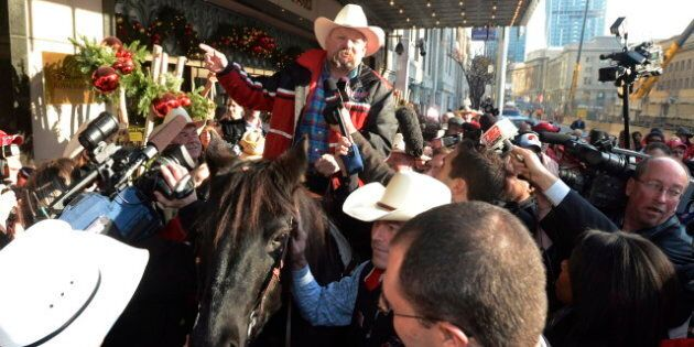 Calgary Stampeders' Horse Marty Allowed Entry To Toronto's Royal York