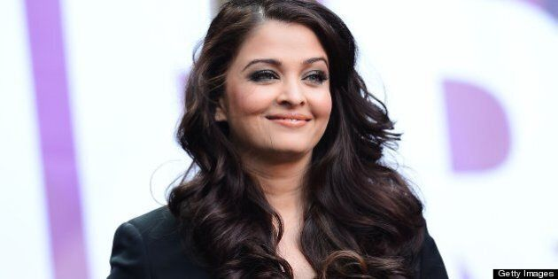 LONDON, ENGLAND - JUNE 01: Aishwarya Rai Bachchan speaks on stage at the 'Chime For Change: The Sound Of Change Live' Concert at Twickenham Stadium on June 1, 2013 in London, England. Chime For Change is a global campaign for girls' and women's empowerment founded by Gucci with a founding committee comprised of Gucci Creative Director Frida Giannini, Salma Hayek Pinault and Beyonce Knowles-Carter. (Photo by Ian Gavan/Getty Images for Gucci)