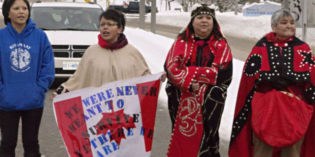 Watching the Watchdog: Supporting Idle No More is a