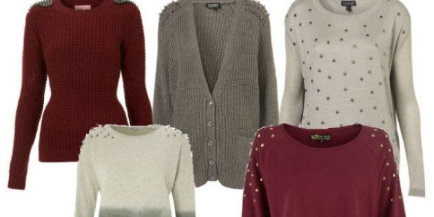 Winter Fashion 2012: 5 Studded Sweaters To Keep You Stylishly