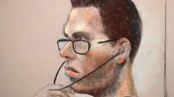 Magnotta Appears To Cry In