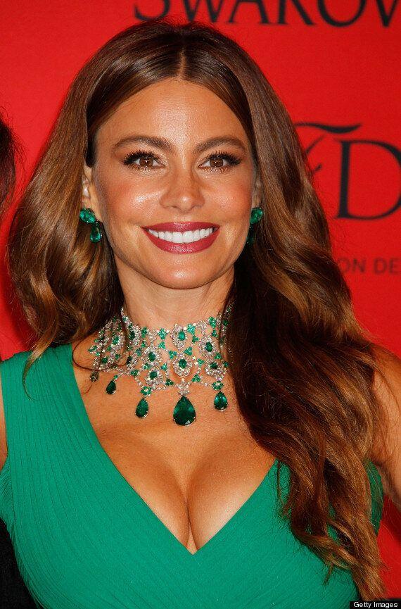 Sofia Vergara CFDA Awards: Actress Shows Off Curves, Cleavage