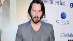 Keanu Reeves Doesn't Clean Up For Red