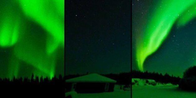 Northern Lights In Alberta: Aurora Borealis Bring Glory To Wood Buffalo National Park