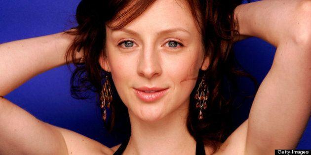 TORONTO - SEPTEMBER 14: Warner recording artist Sarah Slean poses for a portrait at the Toronto International...