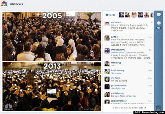 Viral Pope Election Photos Tweeted By NBC News Are