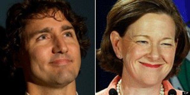 Justin Trudeau Praises Alberta Premier Alison Redford On