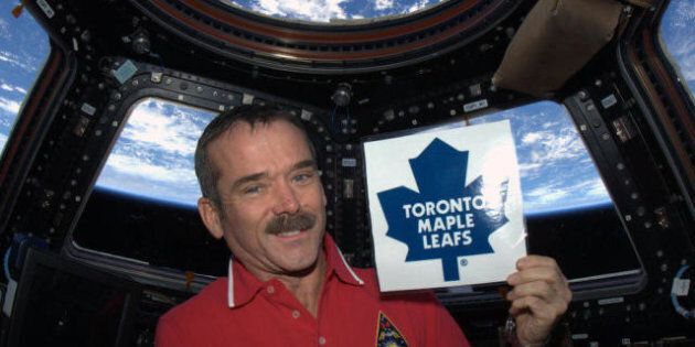 Chris Hadfield Panned For Supporting Leafs