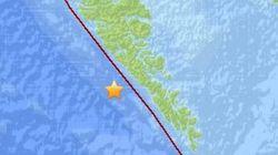 Earthquakes Hit Near B.C.