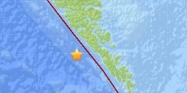 Haida Gwaii Earthquakes Shake BC