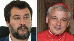 Salvini contro l'elemosiniere del Papa: