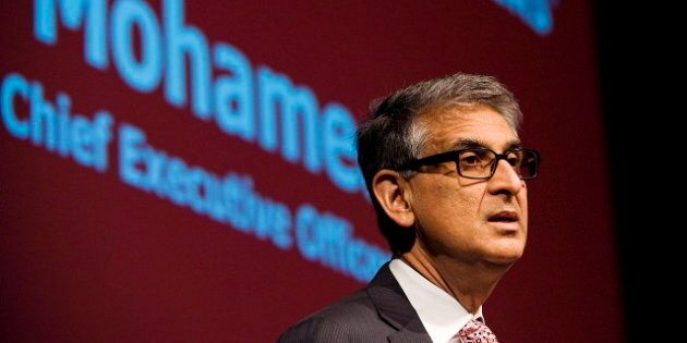 Nadir Mohamed, Rogers CEO, Stepping Down In January 2014 To