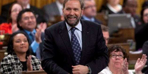 NDP Poll Finds Canada Is Ready For A Mulcair