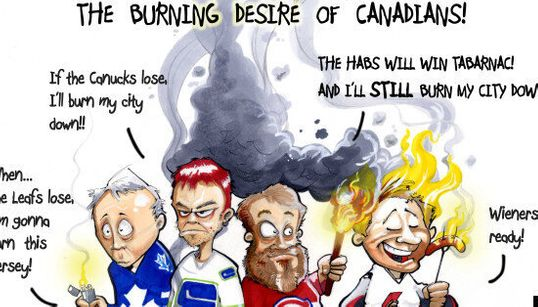 NHL Playoffs 2013: The Burning Desire of Canadians