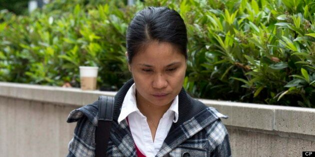 Leticia Sarmiento, Filipina Nanny, Tells Trial She Worked 16-Hour