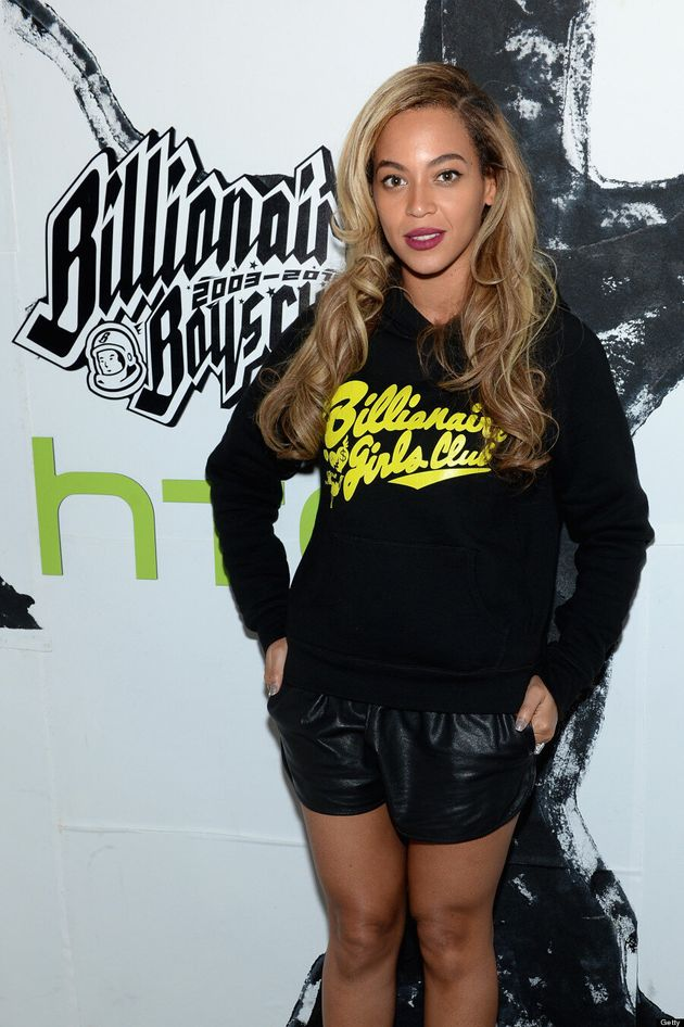 Beyonce's Leather Shorts Show Off Those Perfect Legs