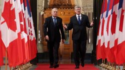 Harper Tries To Shake 'Dirty Oil'