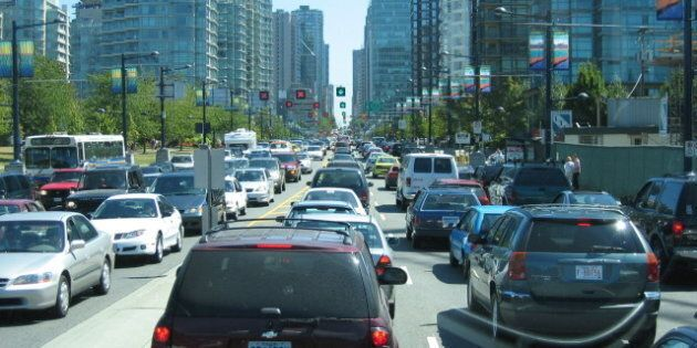 Metro Vancouver Traffic Congestion 2nd Worst In North