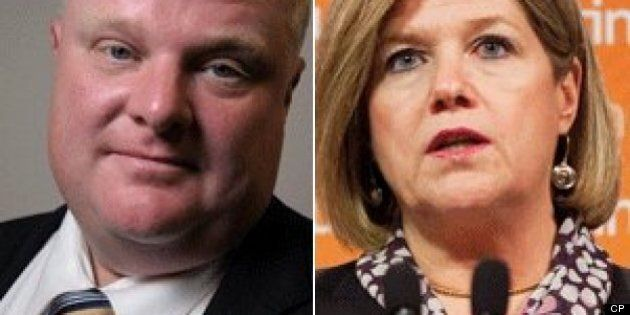 Rob Ford Calls On Ontario NDP Leader Andrea Horwath To Trigger