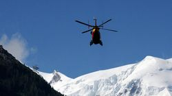 Injured Skier Airlifted To