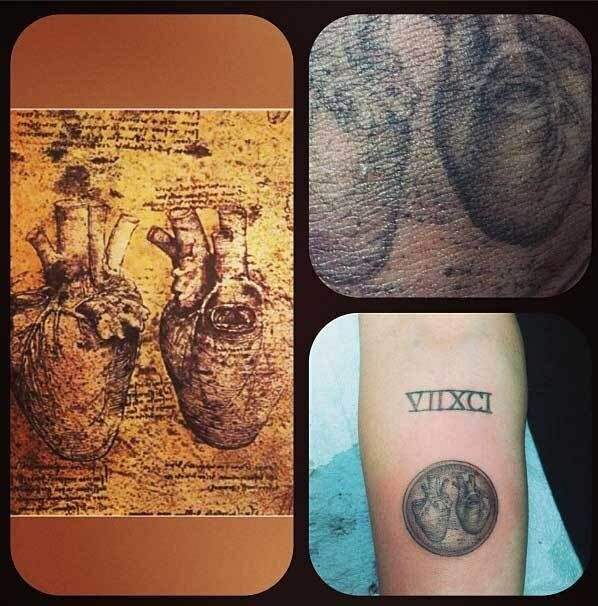 Miley Cyrus Gets New Tattoo Of Heart After Denying Liam Hemsworth Breakup Rumours