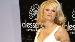 Pamela Anderson's Unique Nail