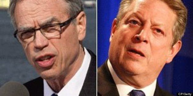 Joe Oliver: Al Gore's Comments On Canada's Climate Change Record 'Wildly