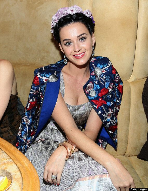 Katy Perry Dons Questionable Boho Outfit For 'The Great Gatsby' Screening