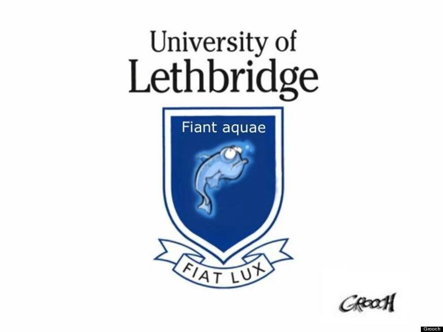 GROOCH: University of Lethbridge Deserves a New Crest