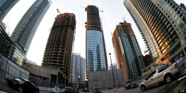 Toronto New Condo Sales Down 55 Per Cent In Q1, Canada Building Permits Up 8.6 Per Cent In